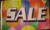3x5' Sale Flag - Circles