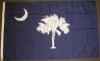 South Carolina State Flag - 3x5' - Single Ply Poly