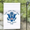 Coast Guard Garden Flag - Nylon - 12x18""