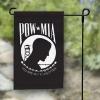 "POW/MIA Garden Flag - Single Reverse - 12x18"""