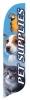 Pet Supplies Quill Flag Kit - 2' x 11'
