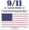 3x5' Flag of Heroes - Nylon