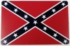 "Confederate Flag Magnet - 3.25"" x 5"""
