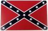 "Confederate Flag Magnet - 3.25"" x 5"""