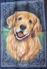 "25"" x 38"" Golden Retriever Decorative Banner"