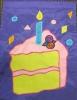 """11"""" x 15"""" Birthday Cake Decorative Garden Banner"""