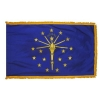 3x5' Indiana State Flag - Nylon Indoor