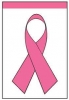 "Pink Ribbon Garden Flag - 12"" x 18"""