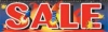Fireworks Sale Vinyl Banner - 3' x 10' - FWKS108