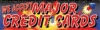 Major Credit Cards Fireworks Vinyl Banner - 3' x 10' - FWKS109