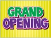 "Grand Opening Coroplast Yard Sign - 18"" x 24"" (KWGO)"