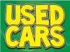 "Used Cars Coroplast Yard Sign - 18"" x 24"" (KWUC)"