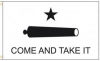 Gonzales Come and Take It Flag - Nylon - 3x5'