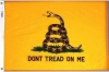 Gadsden Flag - Don't Tread on Me - Nylon