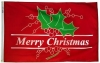 3x5' Merry Christmas Holiday Flag - Nylon Outdoor