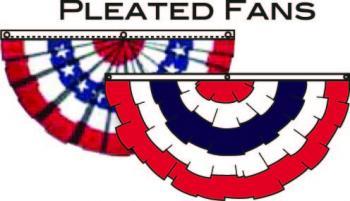 4x8' Cotton Fan - Stripes Only