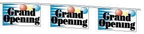 Grand Opening Pennant String - 30'