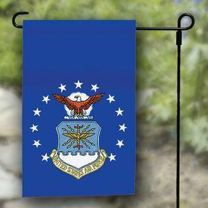 "Air Force Garden Flag - Nylon - 12x18"""