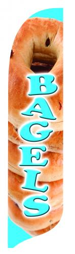 BAGELS Quill Flag Kit - 2' x 11'