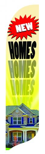 NEW HOMES Quill Flag Kit - 2' x 11'