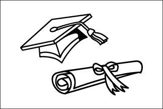 3x5' Graduation Flag