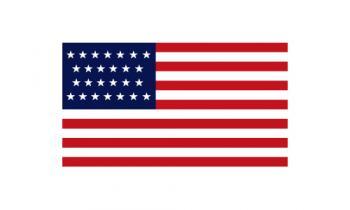 3x5' 26 Star American Flag - Nylon