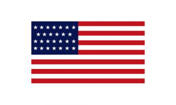 3x5' 27 Star American Flag - Nylon