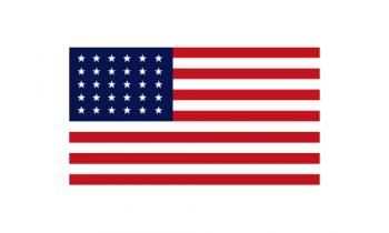 3x5' 30 Star American Flag - Nylon