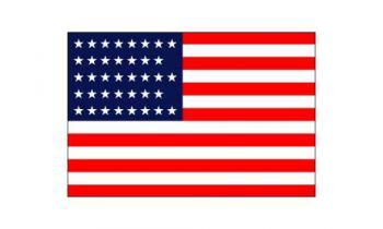 3x5' 38 Star American Flag - Nylon