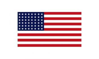 3x5' 48 Star American Flag - Nylon