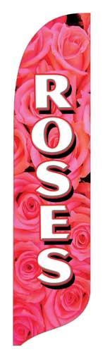 Roses Quill Flag Kit - 2' x 11'