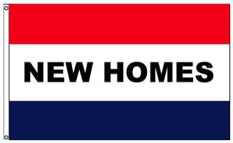 3x5' New Homes Flag - Nylon