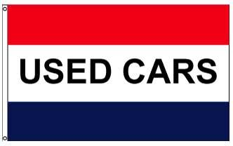 3x5' Used Cars Flag - Nylon