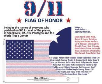 3x5' Flag of Honor - Nylon