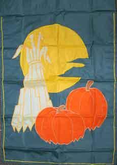 """28"""" x 39"""" Haystack Decorative Banner"""
