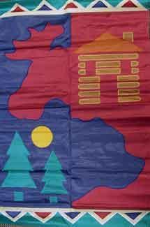 "28"" x 44"" Moose Lodge Decorative Banner"