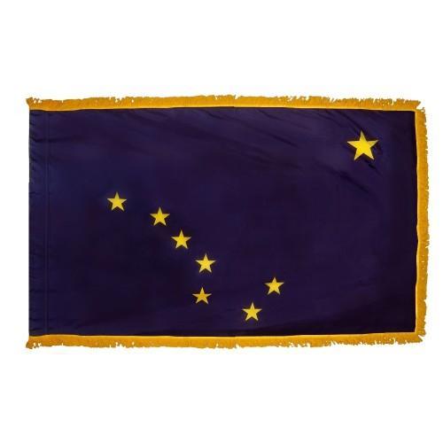 3x5' Alaska State Flag - Nylon Indoor
