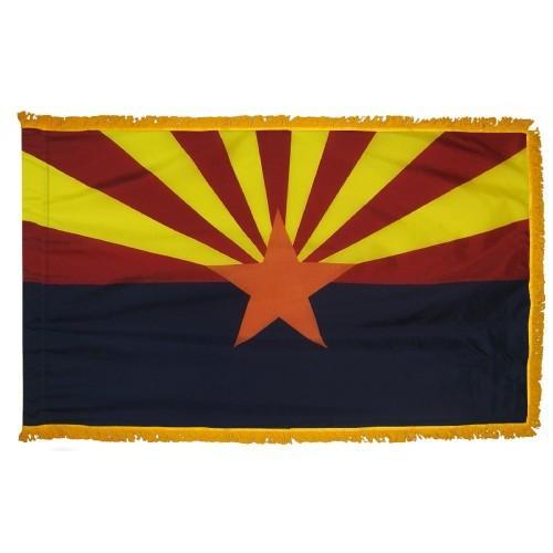 3x5' Arizona State Flag - Nylon Indoor