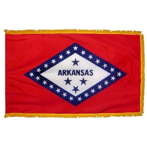 3x5' Arkansas State Flag - Nylon Indoor