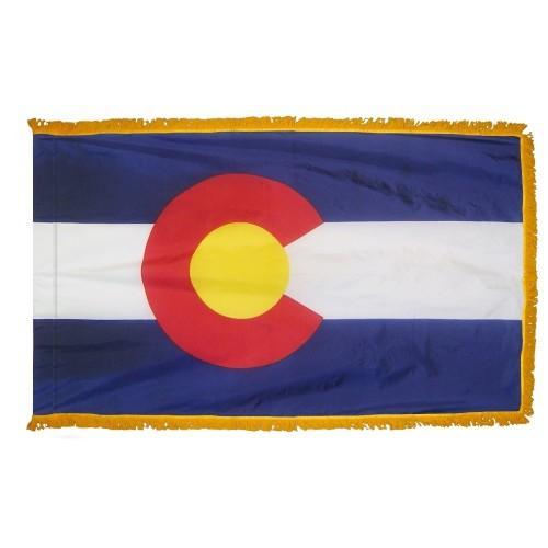 3x5' Colorado State Flag - Nylon Indoor