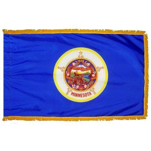 3x5' Minnesota State Flag - Nylon Indoor