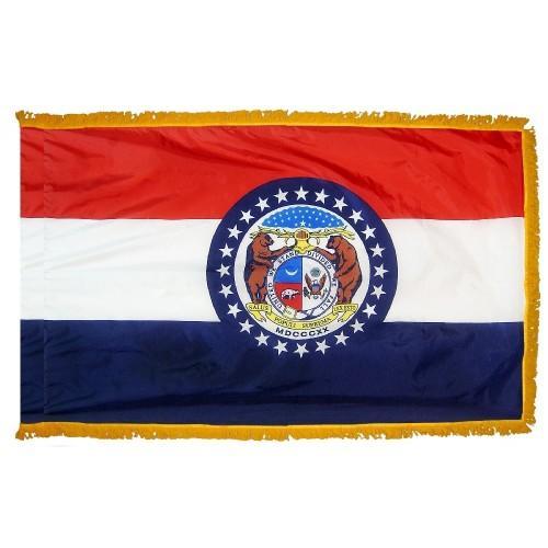 3x5' Missouri State Flag - Nylon Indoor