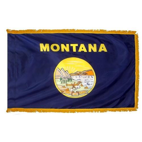 3x5' Montana State Flag - Nylon Indoor