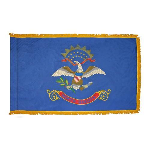 3x5' North Dakota State Flag - Nylon Indoor