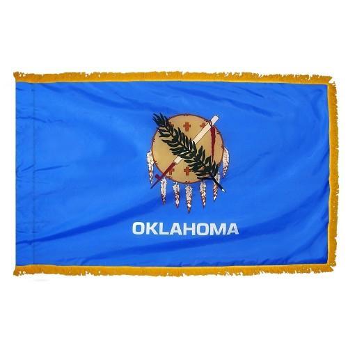 3x5' Oklahoma State Flag - Nylon Indoor
