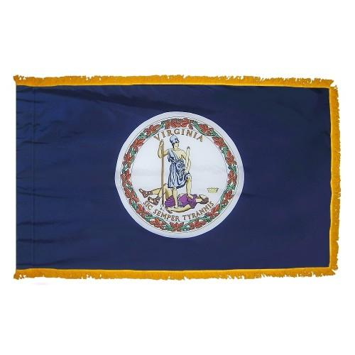 3x5' Virginia State Flag - Nylon Indoor
