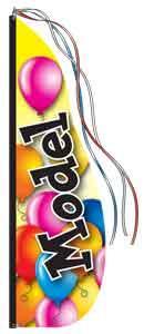 Model Balloons Feather Dancer Kit - 13'
