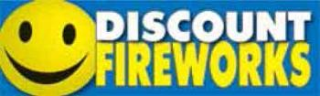 Discount Fireworks Vinyl Banner - 3' x 10' - SF110