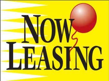 "Now Leasing Coroplast Yard Sign - 18"" x 24"" (KWHBNL)"