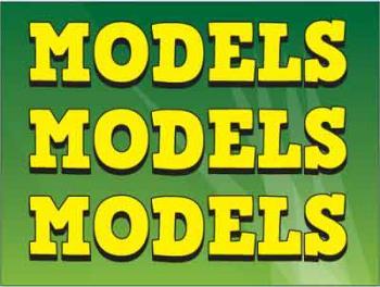 "Models Coroplast Yard Sign - 18"" x 24"" (KWMDLS)"